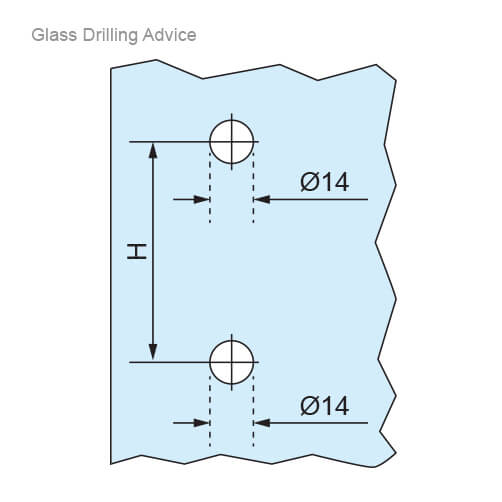 Glass Door Drilling Advice