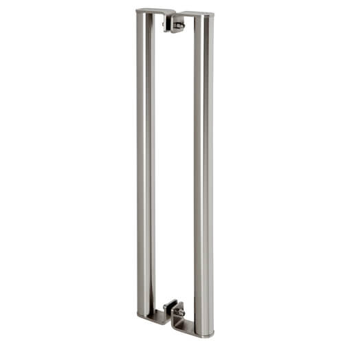 Door Handle - Back to Back - Stainless Steel