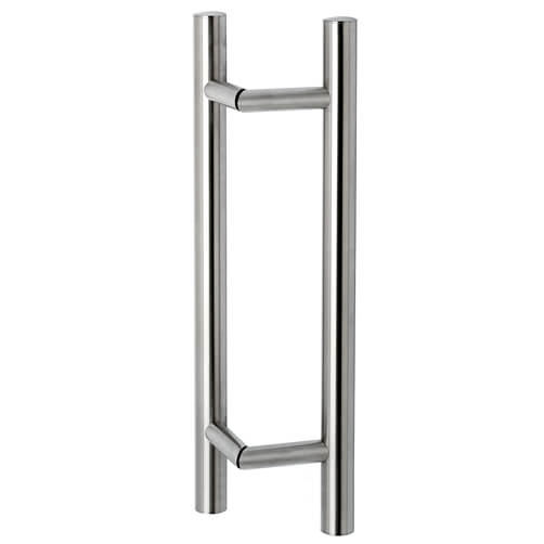Door Handle - Tubular - 45 Degree - Stainless Steel