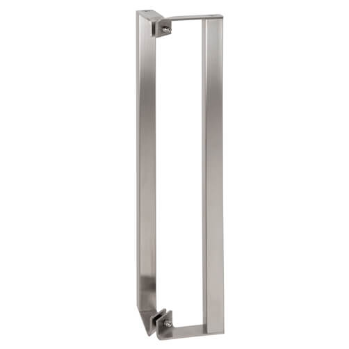 Square Profile Door Handle - 45 Degree - Stainless Steel