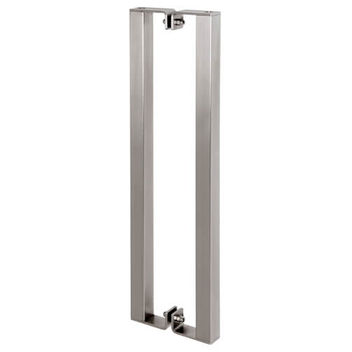 Square Profile Door Handle - Stainless Steel
