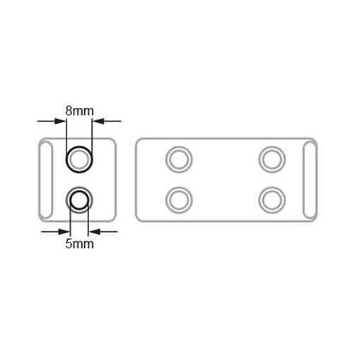 Mounting Plate - Hole Dimensions