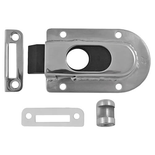 Spring Loaded Slide Latch - Stainless Steel