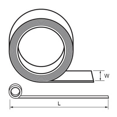 Double-Sided Adhesive Tape - Dimensions