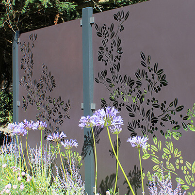 Drift Garden Screen Kit - Powder Coated Aluminium