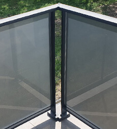 Easy Alu Glass Balustrade