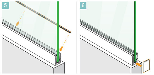 Easy Glass Up Installation 5-6