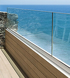 Easy Glass Up - Parapet Balustrade