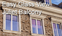 Easy Glass View - Juliet Balcony System