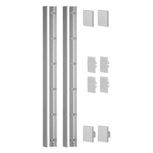 Mounting Profile Set - Easy Glass View - Juliet Balcony
