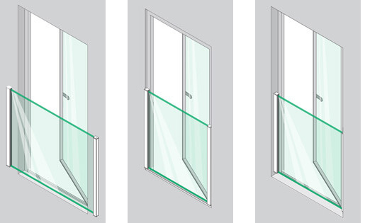 Easy Glass View - Mounting Options