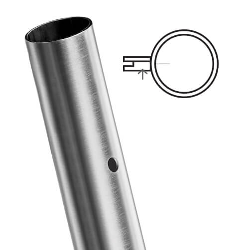Stainless Steel End Post For Glass Balustrade