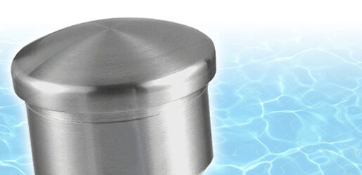 "Stainless Steel Ultra Corrosion Resistant Tube End Caps"" width=""100%"" border="