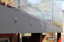 Fascia Mounting Profiles For Glass Channel Balustrade