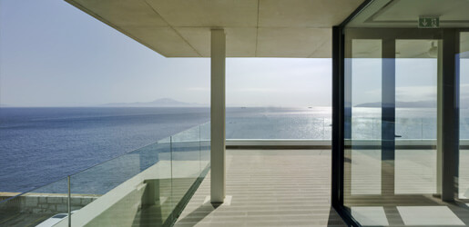 Fascia Mount Frameless Pro Glass Balustrade
