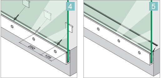 Fascia Mount Glass Balustrade Installation Advice