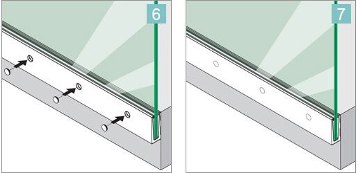 Fascia Mount Glass Balustrade Overview