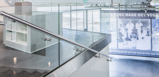Fascia Mounting Y Shaped Profiles - Frameless Pro Glass Balustrade