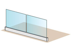 Frameless Pro Glass Balustrade - 4 Metre