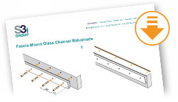 Download Fascia Mount Glass Channel Balustrade Information Sheet