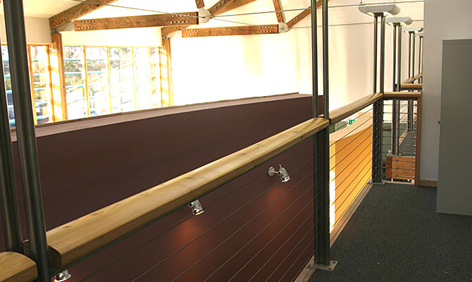 Forestry Commission Balustrade Installation