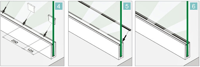 Frameless Top Mount Glass Balustrade Installation Advice