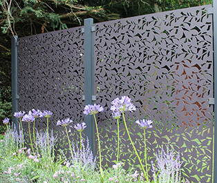 Decorative Garden Screen Kits - Powder Coated Aluminium