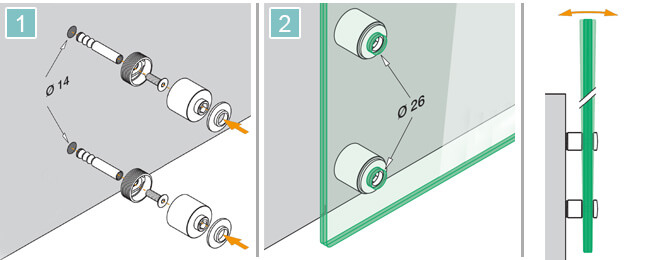 Glass Adapter Installation Advice