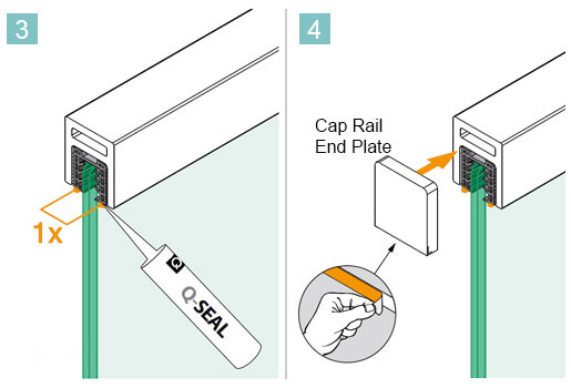 Cap Rail Installation Advice