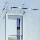 Glass Door Canopy Kits