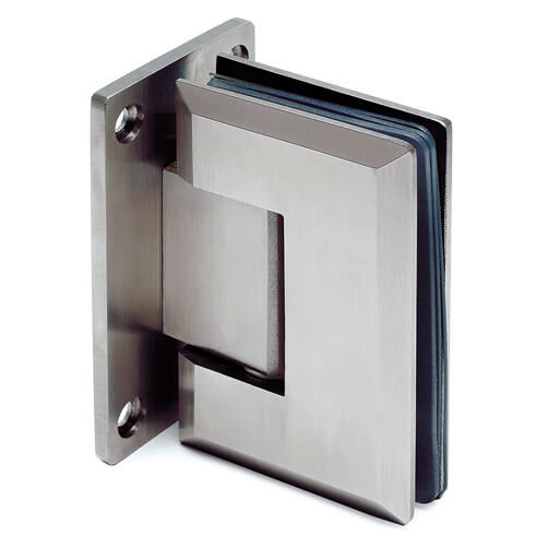 Glass Swing Door Hinge - Glass/Wall Mount - Stainless Steel