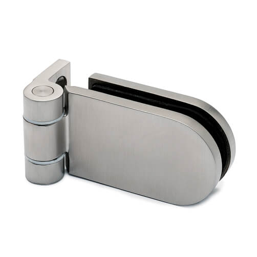 Glass Door Hinge Wall Glass Fixing Long D Shape S3i