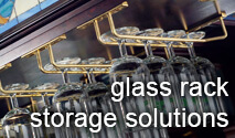 Glass Rack Storage Solutions