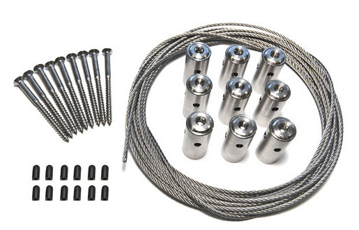 Stainless Steel Wire Trellis Kit