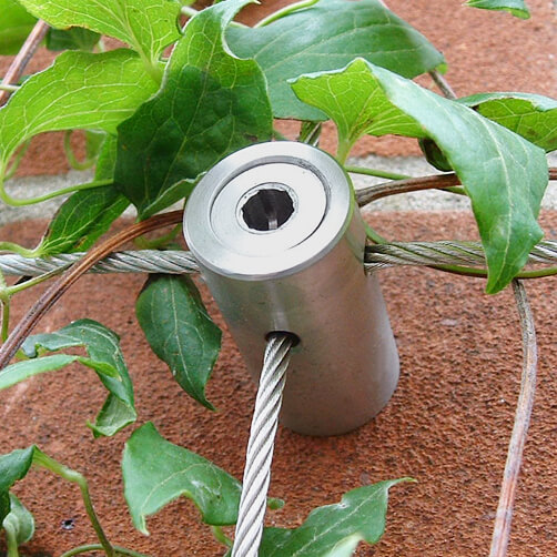 Wire Trellis Hub - A4 316 Grade Stainless Steel