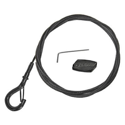 Gripple Black Line Hanger and Snap Hook Wire Rope Kit