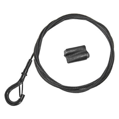 Gripple Black Line Express and Snap Hook Wire Rope Kit