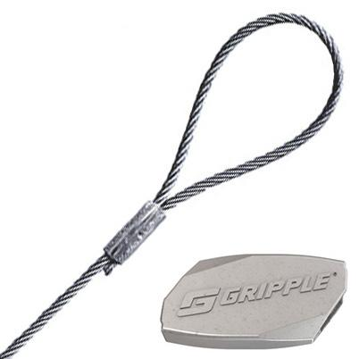 Gripple Standard Hanger and Wire Rope with Pre-crimped Loop End Fixing