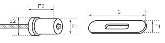 Gripple Toggle Dimensions