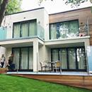 Hampstead Glass Balustrade