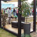 Wire Infill, Hampton Court RHS Show 2007