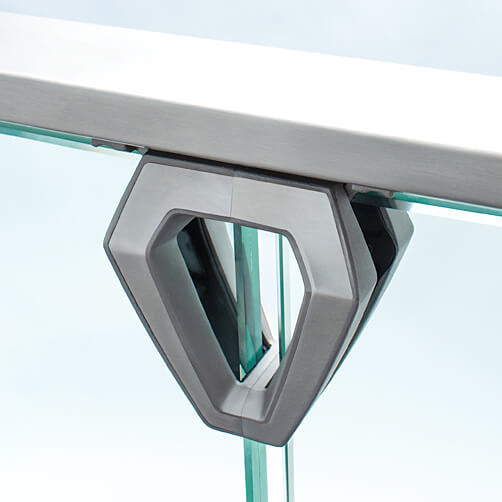 Handrail Adapter - Profile - Easy Glass Air