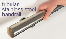 Tubular Stainless Steel Handrail