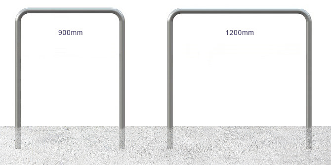 900mm and 1200mm Hoop Barriers