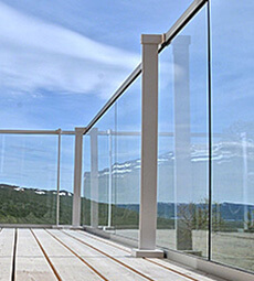 Easy Glass Hybrid Glass Balustrade