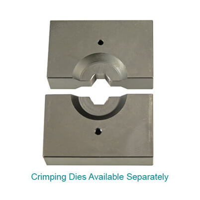 3mm - 6mm Crimping Dies - Available Separately