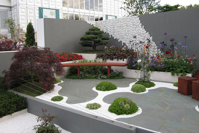 The I-No Garden at RHS Chelsea Flower Show 2010