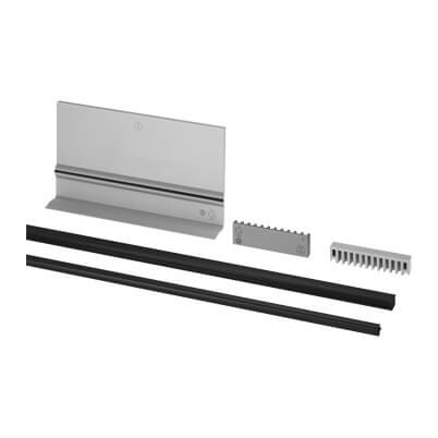 Rubber Insert and Adjustable Wedge Kit - Frameless Pro Glass Balustrade