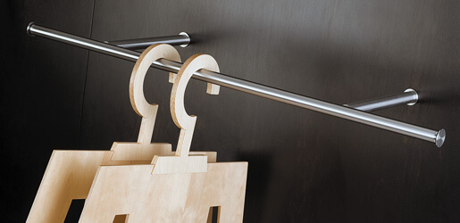 Stainless Steel Shelf Supports and Hangers