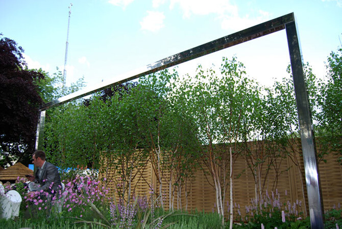Jamie Dunstan at the RHS Chelsea Flower Show 2010